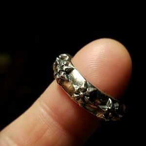 Chrome Hearts Sterling silver band badass